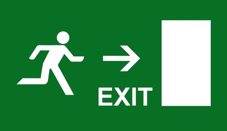 10608564 - emergency exit sign