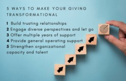 5 Ways To Make Your Giving Transformational
