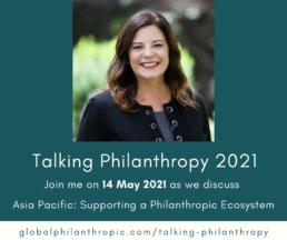 Talking Philanthropt Asia Pacific Event Banner