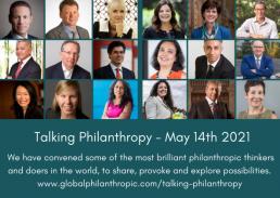 Talking Philanrthropy Event Banner