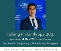 Talking Philanthropy Banner