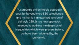 Corporate Philanthropy quote