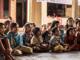 Children sitting down